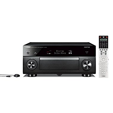 Yamaha CX-A5100 11.2-Channel MusicCast Preamplifier with Built-In Wi-Fi & Bluetooth (Black)