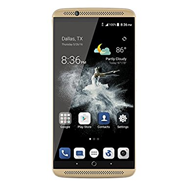 ZTE Axon 7 Unlocked Smartphone (64GB Ion Gold)