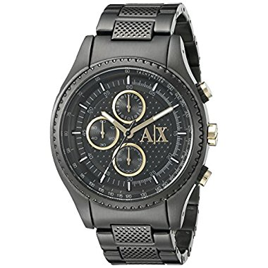 Armani Exchange Men's AX1604  Black  Watch