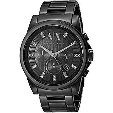 Armani Exchange Men's AX2093  Black  Watch