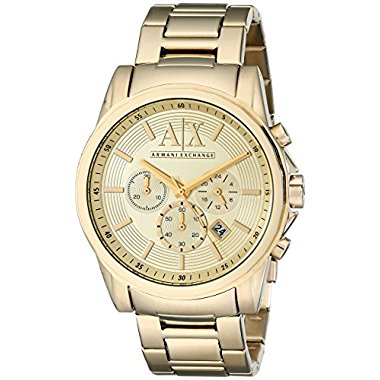 Armani Exchange Men's AX2099  Gold  Watch