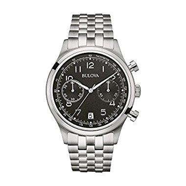 Bulova Classic Chronograph Stainless Steel Men's watch #96B234