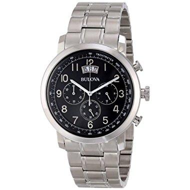 Bulova Men's 96B202 Stainless Steel Watch