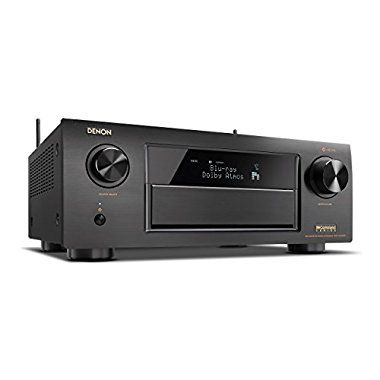 Denon AVR-X6300H 11.2-Channel Full 4K Ultra HD AV Receiver with Built-in HEOS Wireless Technology