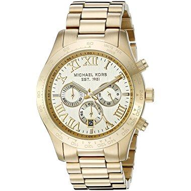 Michael Kors Layton Gold-Tone Men's Watch MK8214