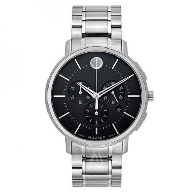 Movado Movado TC Chronograph Thin Classic Men's Watch (0606886)