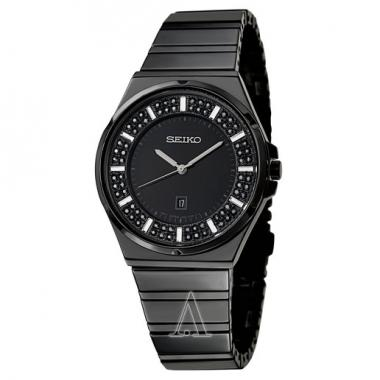 Seiko Core Black Ion Women's Watch (SXDG37)
