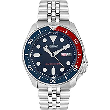 Seiko Men's Automatic SKX009K2 Blue Stainless-Steel Automatic Watch