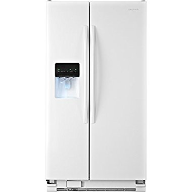 Amana 22 cu.ft. Side-By-Side Refrigerator, White