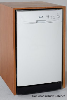 Avanti DW18D0WE Built In Dishwasher, 18, White