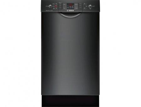 Bosch 18 300 Series Black Built-In Dishwasher