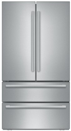 Bosch B21CL81SNS 36 Counter Depth French Door Refrigerator with 20.7 cu. ft. Capacity