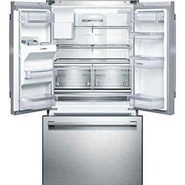 Bosch B26FT80SNS 36 French Door Bottom-Freezer Refrigerator (Stainless Steel)