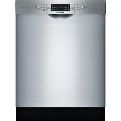 Bosch SGE68U55UC 24 800 Series Energy Star Rated Dishwasher with 15 Place Settings in Stainless Steel