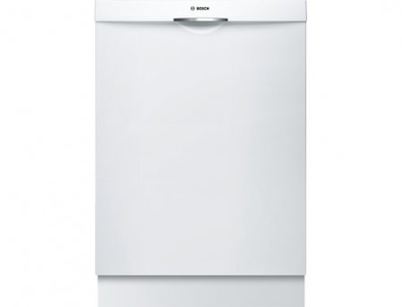 "Bosch SHS5AV52UC 24"" Ascenta Energy Star Rated Dishwasher with 14 Place Settings in White"
