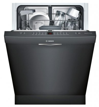 Bosch SHS5AVL6UC 24 Ascenta Energy Star Rated Dishwasher with 14 Place Settings in Black