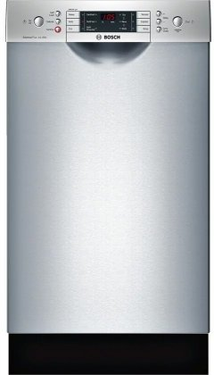 Bosch SPE68U55UC 18 800 Series Energy Star Rated Dishwasher with 10 Place Settings in Stainless Steel