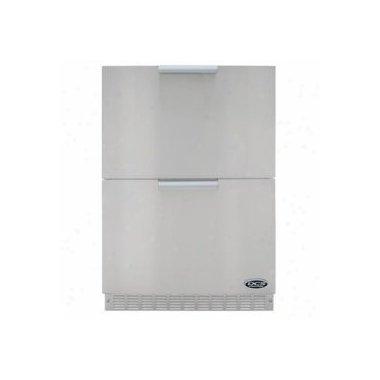 DCS RF24DE4 24 Stainless Steel Drawer Refrigerator