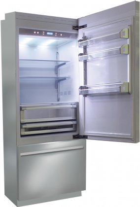 Fhiaba BKI30BI-RO 30 Brilliance Series Built In Bottom Freezer Refrigerator (Stainless Steel, Right Hinge)