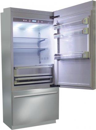 Fhiaba BKI36BI-RS 36 Brilliance Series Built In Bottom Freezer Refrigerator (Stainless Steel)