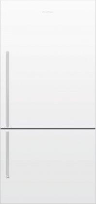 Fisher Paykel E522BRWFD5 32 ActiveSmart Bottom Freezer 17.6 cu. ft. Refrigerator (White)