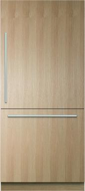 Fisher Paykel RS36W80RJ1 36 Integrated Bottom Freezer Refrigerator with 16.8 cu. ft. Capacity (Custom Panel Ready)