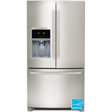 "Frigidaire FDBC2250SS 36"" Counter Depth French Door Refrigerator with 22.5 cu. ft. Total Capacity, in Stainless Steel"