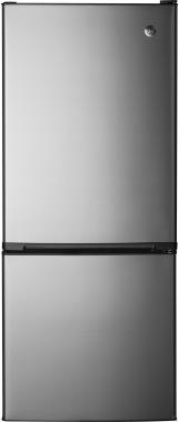 GE GBE10ESJSB Counter-Depth Bottom-Freezer Refrigerator (Stainless Steel)
