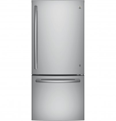 GE GBE21DSKSS Bottom Freezer Refrigerator (Stainless Steel)