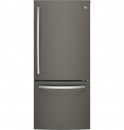 GE GDE21EMKES Bottom Freezer Refrigerator (Slate)
