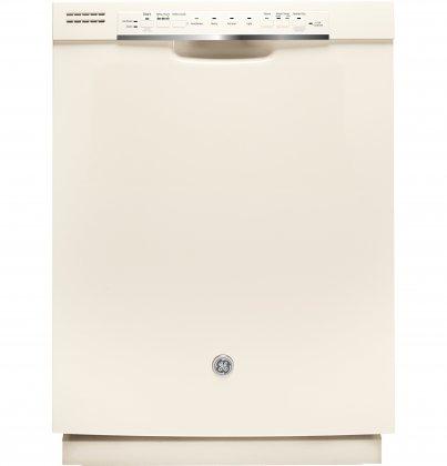 GE GDF570SGJCC Dishwasher with 16-Place Settings, Hard Food Disposer, Removable filter, Adjustable Upper Rack