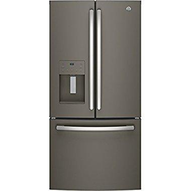 GE GFE24JMKES 33 French Door 23.8 cu. ft. Refrigerator (Slate)