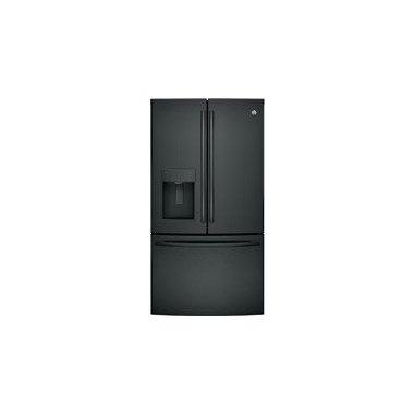 GE GFE26GGKBB French-Door Bottom Freezer Refrigerator (Black)