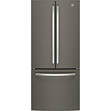 GE GNE21FMKES French Door Refrigerator (Slate)