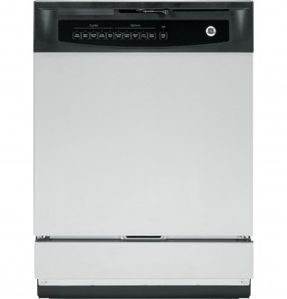 GE GSD4060KSS 24 Built In Full Console Dishwasher with 5 Wash Cycles, in Stainless Steel