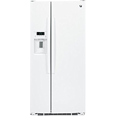 GE GSE23GGKWW 33 Freestanding Side by Side 23.2 cu. ft. Refrigerator (White)