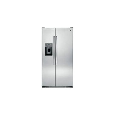 GE GSE25GSHSS 25.4 Cu. Ft. Stainless Steel Side-By-Side Refrigerator Energy Star