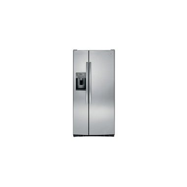 GE GSS23GSKSS 23.2 Cu. Ft. Side-By-Side Refrigerator (Stainless Steel)