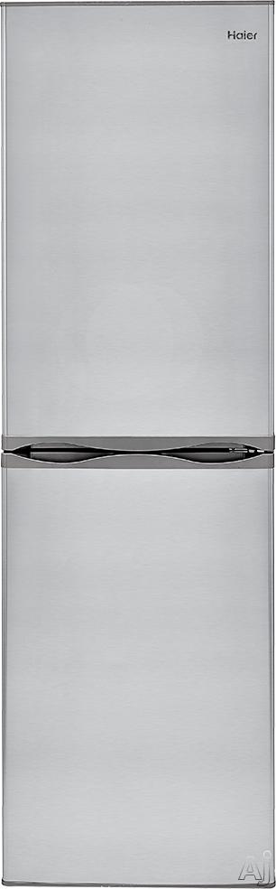 Haier HRB10N2BGS 24 Bottom Freezer Refrigerator with 10.2 cu. ft. Capacity