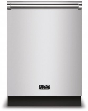 Kucht K6502D 24 Top Control Dishwasher in Stainless Steel with Stainless Steel Tub and Multiple Filter