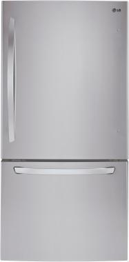 LG LDCS22220S 30 Bottom Freezer Refrigerator with 22.1 cu. ft. Capacity