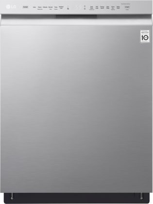 LG LDF5545ST Front Control Dishwasher With Quadwash and Easyrack Plus