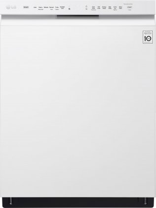 LG LDF5545WW 24 Built In Dishwasher with 15 Place Settings, 48 dBA