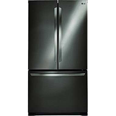 LG LFC21776D 36 Counter Depth French Door Refrigerator with 20.7 cu. ft. Total Capacity, in Black Stainless Steel