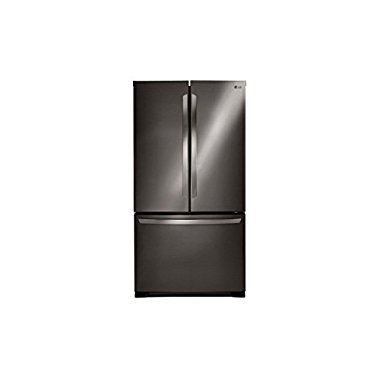 LG LFCS25426D 36 French Door 25.4 cu. ft. Refrigerator (Black Stainless Steel)