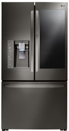 LG LFXC24796D 36 Counter Depth French Door 24 cu. ft. Refrigerator withInstaView Door-in-Door, SmartDiagnosis System, External Water and Ice