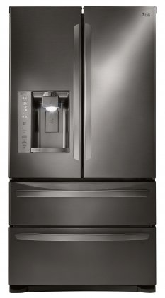 LG LMXS27626D 36 French Door 27 cu.ft. Refrigerator with Double Freezer Drawers