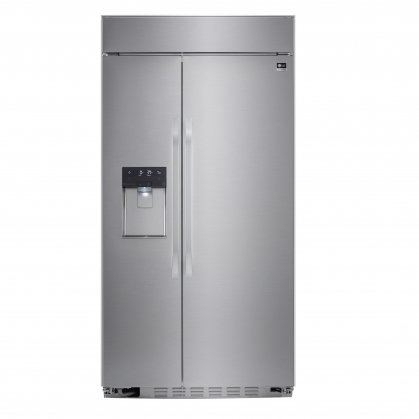 LG Studio LSSB2692ST 42 Built-In Side-by-Side 25.6 cu. ft. Refrigerator with Ultra-Large Capacity, Tall Dispenser, In-Door Ice Maker