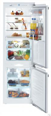 Liebherr HCB-1060 24 Fully Integrated Bottom Freezer Refrigerator with 8.72 cu. ft. Total Capacity