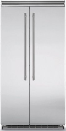 Marvel MP42SS2NS 42 Professional Side-by-Side Refrigerator with 25.32 cu. ft. Capacity  Dynamic Cooling Technology  Digital Controls  Moisture Control Evaporator and